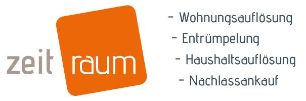 zeit.raum Wohnungsauflösungen – Nachlassankauf Logo